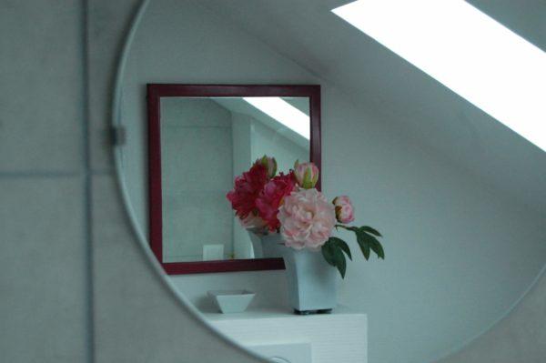 Chambre d'hôtes - Miroir salle-de-bains
