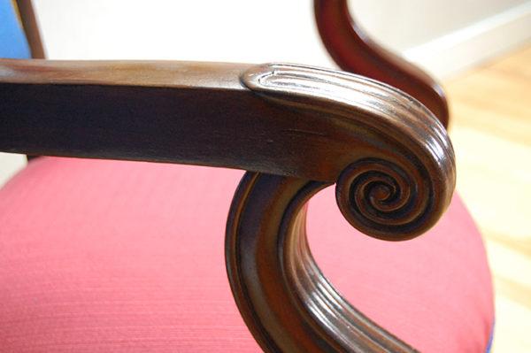 Chambre d'hôtes - Détail fauteuil