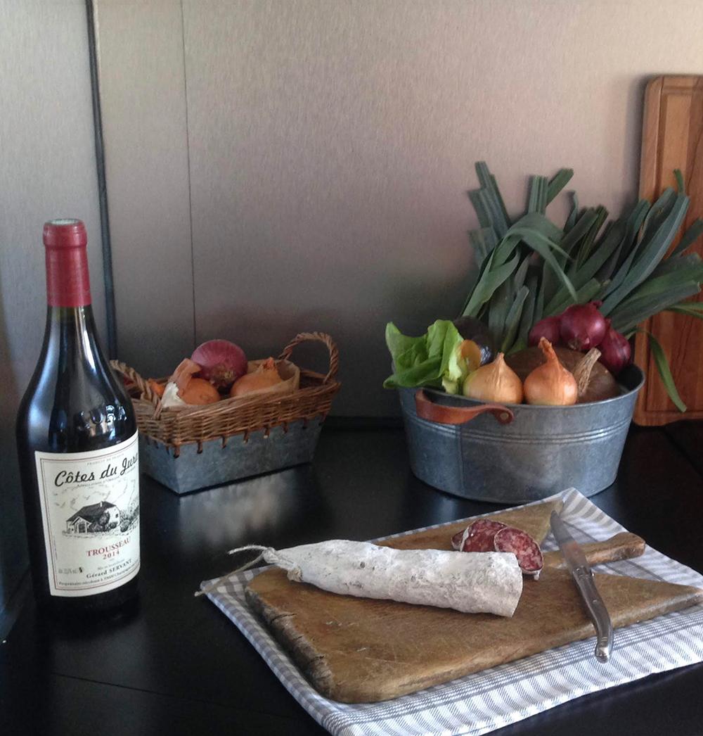 Table d'hôtes - Produits locaux